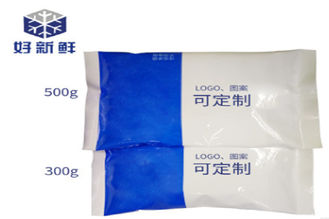 Customized Color / Logo Cold Chain Packaging NY/PE Frozen Packs For Meat Delivery